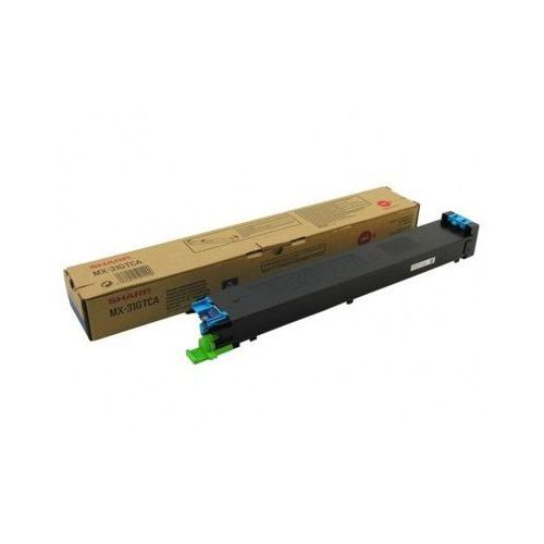 Toner Oryginalny MX-31GTCA Błękitny do Sharp MX-4101 NSP - DARMOWA DOSTAWA w 24h