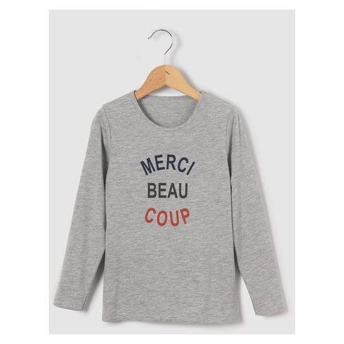 T-shirt z długim rękawem z bawełny organicznej 3-12 lat, kup u jednego z partnerów