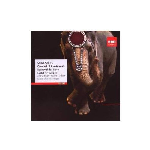 Warner music Red line - carnival of the animals, septet for trumpet