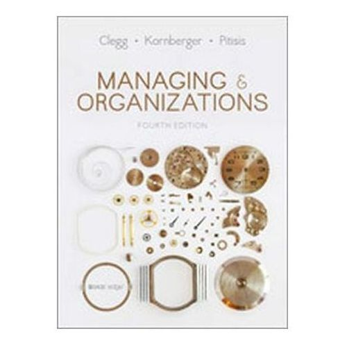 Managing and Organizations (9781473938441)
