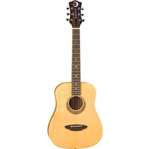 Luna safari muse spruce gitara akustyczna 3/4