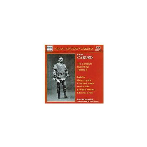 Naxos classical Complete recordings vol. 4 (1908-1910) (0636943171929)