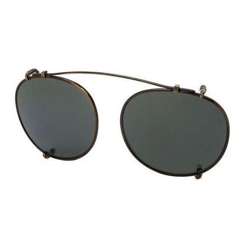 Tom ford Okulary słoneczne ft5294 clip on only polarized 29r