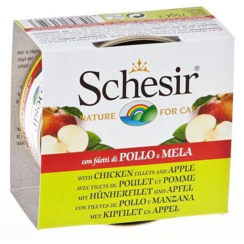 Schesir Fruit, 6 x 75 g - Tuńczyk z papają (8005852613509)