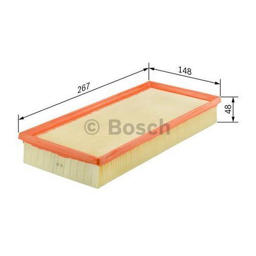 Bosch  wkład filtra powietrza, silnik, 1 457 433 686