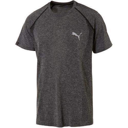 Puma koszulka sportowa evoKNIT Basic Tee Black Heather (4056207877613)