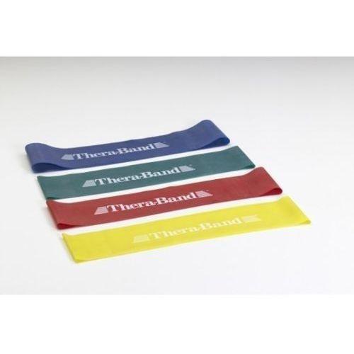 Loop - obręcz taśmy Thera Band 30,5 cm, opór średni, czerwony
