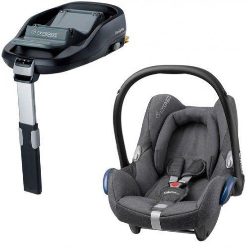 Fotelik Maxi-Cosi CabrioFix + baza familyfix Sparkling Grey