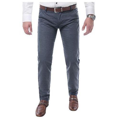 Spodnie męskie chinosy - gm-331 marki Risardi