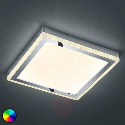 Lampa Sufitowa Reality SLIDE LED Biały, 1-punktowy, Zdalne sterowanie, Zmieniacz kolorów - Nowoczesny - Obszar wewnętrzny - SLIDE - Czas dostawy: od 3-6 dni roboczych (4017807407822)