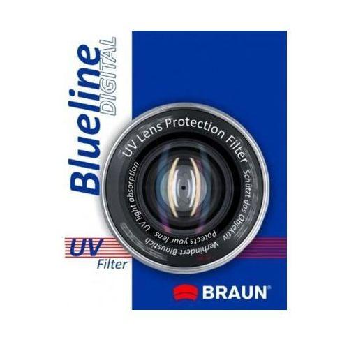Filtr uv blueline (58 mm) marki Braun