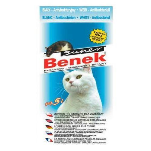 Certech Super Benek Antybakteryjny Biały żwirek dla kota