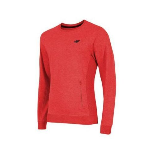 Bluza męska 4F BLM001 - czerwony melanż