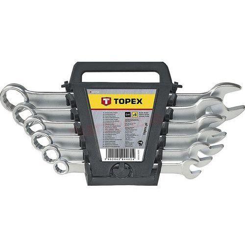 Topex Zestaw kluczy płasko-oczkowych 35d397 8 - 17 mm (6 elementów)