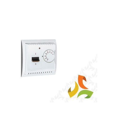 Regulator temperatury z czujnikiem zewnętrznym, montaż na wkręty, biały Wymagany czujnik zewnętrzny (sonda) NTC-03 MRT10Z/11 SIMON CLASSIC