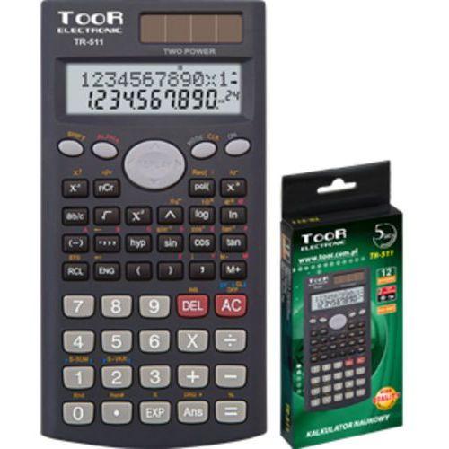 Kalkulator naukowy TOOR TR-511