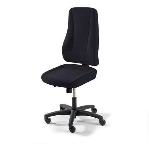 Krzesło obrotowe z siedziskiem nieckowym, wys. oparcia 660 mm, kolor obicia: cza