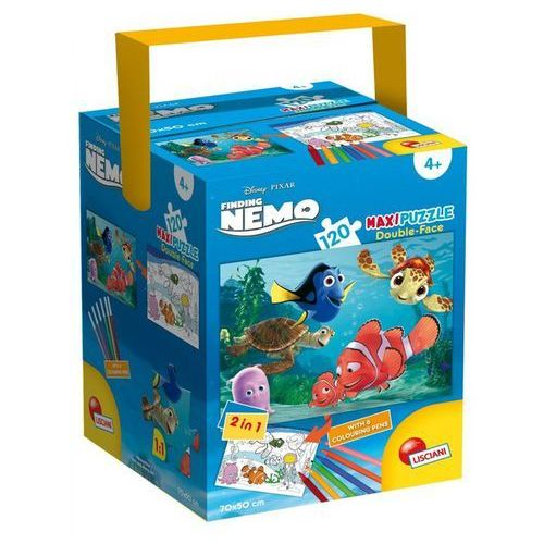 Puzzle w walizce Maxi dwustronne Gdzie jest Nemo 120