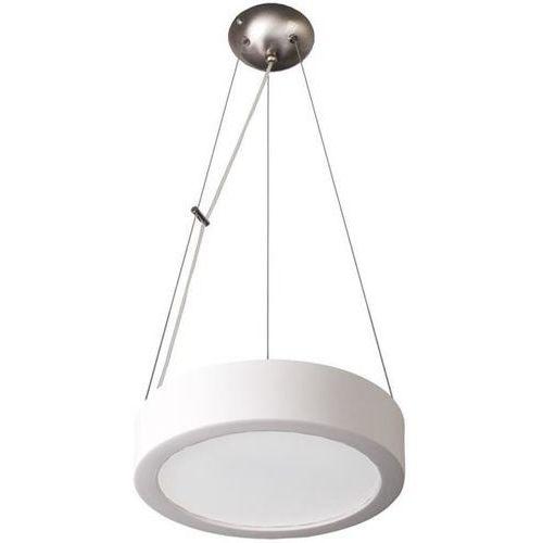 Lampex Lampa wisząca atena 36 biała - biały