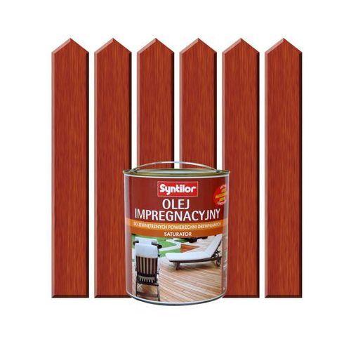 Olej impregnacyjny do tarasów saturator 2.5 l drewno egzotyczne marki Syntilor