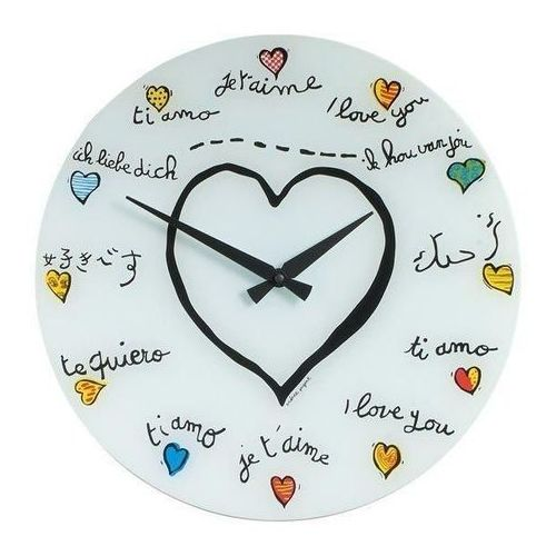Zegar Ścienny 8030 Loving You śr. 43 cm Nextime, kolor Zegar