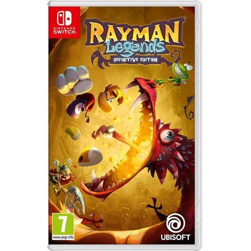 Gra nintendo switch rayman legends definitive edition marki Ubisoft