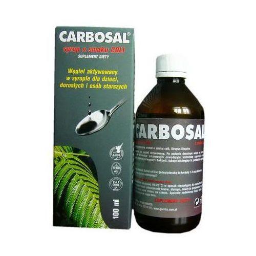 Carbosal - Węgiel aktywowany syrop 100ml