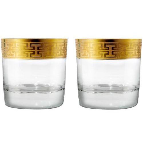 Zwiesel 1872 hommage gold szklanki do whisky 397ml kpl 2szt