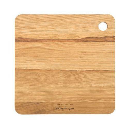 Deska drewniana Healthy Plan by Ann kwadratowa, DDK001