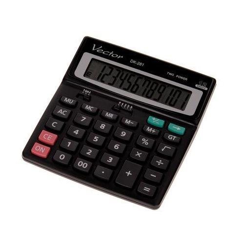 Kalkulator 12pozycyjny dk281 marki Vector. Najniższe ceny, najlepsze promocje w sklepach, opinie.