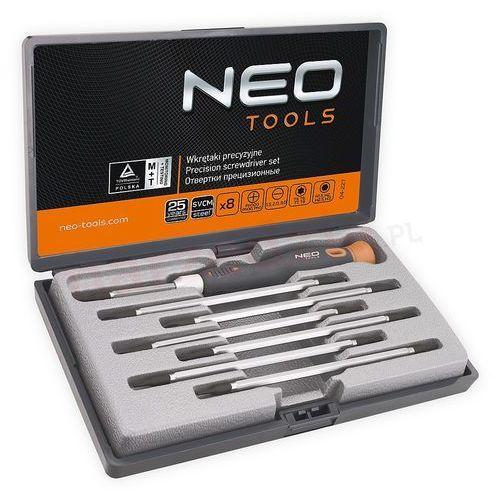 Neo 04-227 wkrętaki precyzyjne 8szt svcm