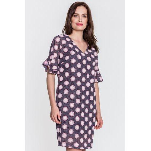 Margo collection Sukienka w grochy -