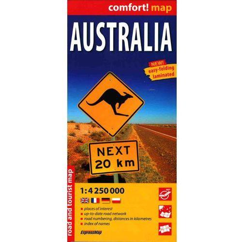 comfort! map Australia (9788380462908)