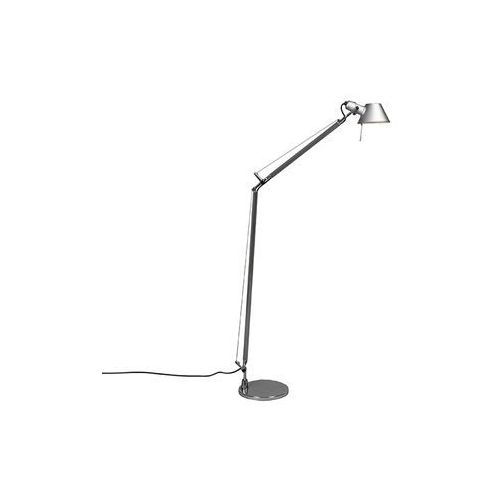 Artemide lampa podłogowa aluminiowa regulowana - artemide tolomeo lettura