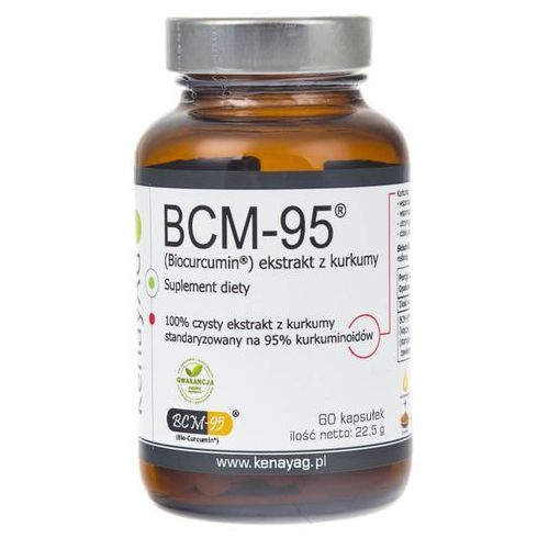 BCM-95 ekstrakt z kurkumy (Biocurcumin) (60 kaps.) Arjuna Natural Extracts (5900672152180)