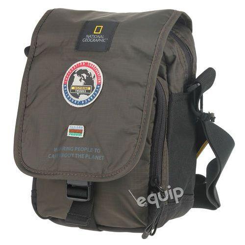 Torba na ramię explorer - khaki marki National geographic