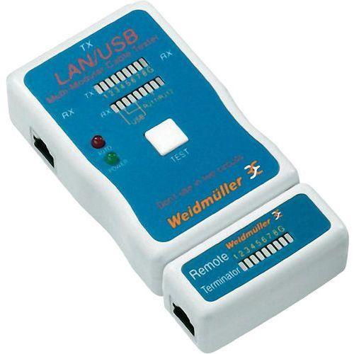 Tester kabli Weidmüller LAN USB TESTER, 9205400000 (4032248732128)