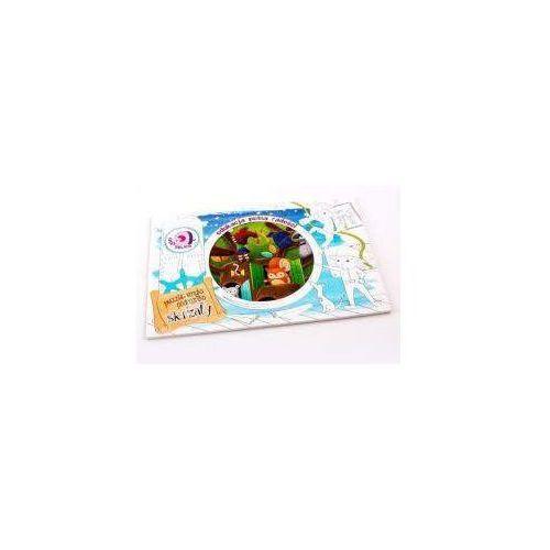 Puzzle smyka podróżnika - skrzaty marki Felico