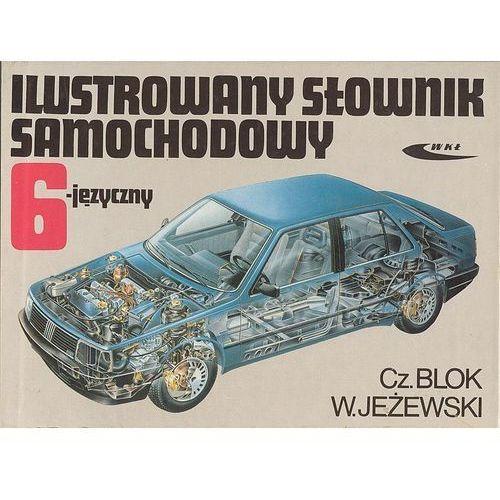 Ilustrowany słownik samochodowy 6-języczny, oprawa twarda