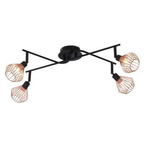 Brilliant Lampa punktowa 21094/76 g9, (dxsxw) 40 x 25 x 20 cm, czarny, miedź (4004353240355)