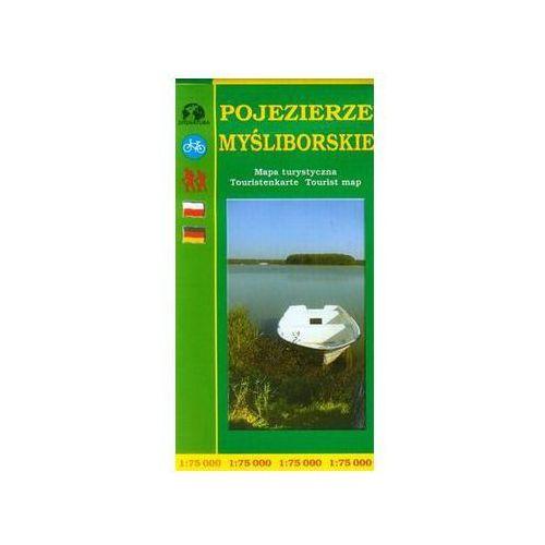 Pojezierze Myśliborskie mapa turystyczna 1:75 000 - Sygnatura (9788387873882)
