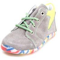 boys buty do nauki chodzenia charlie graphit/pea (średnie) marki Pepino