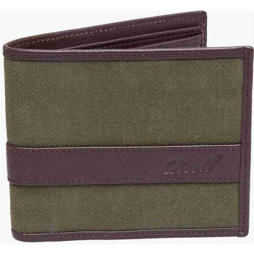 Portfel - canvas leather wallet olive (olive) rozmiar: os marki Reell