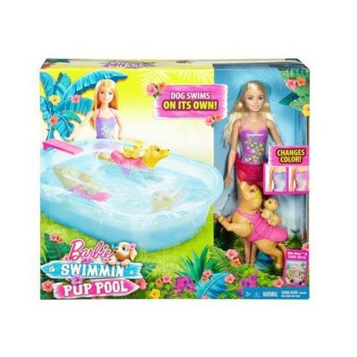 Barbie Basen Pływajacych Piesków DMC32, dmc32