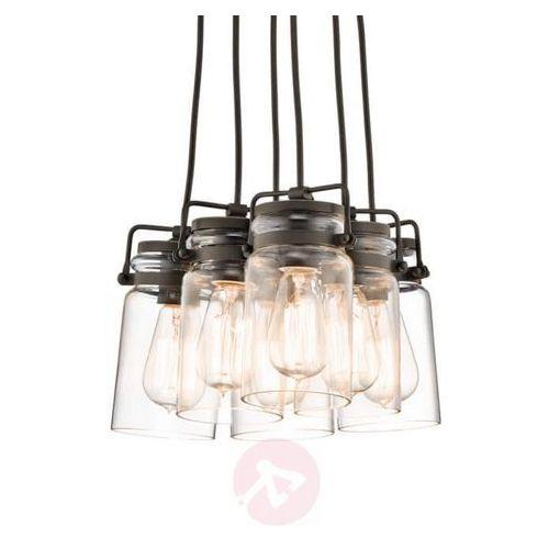 Elstead Kl/brinley6 kichler brinley loft lampa wisząca (5024005231318)
