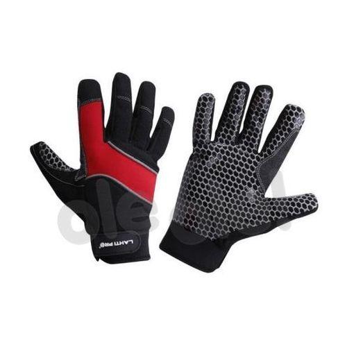 LAHTI PRO Rękawice warsztatowe pokryte silikonem rozmiar 10 /L281110K/