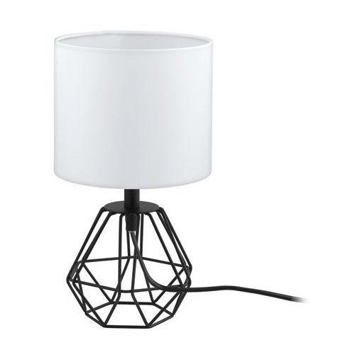 carlton 2 lampa stołowa czarny, 1-punktowy - nowoczesny - obszar wewnętrzny - 2 - czas dostawy: od 10-14 dni roboczych marki Eglo