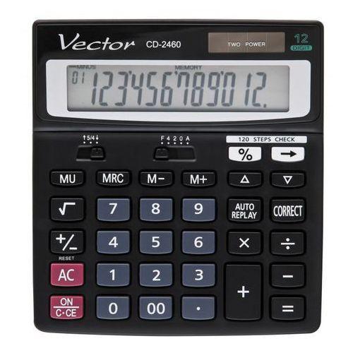 Kalkulator Vector CD-2460. Najniższe ceny, najlepsze promocje w sklepach, opinie.