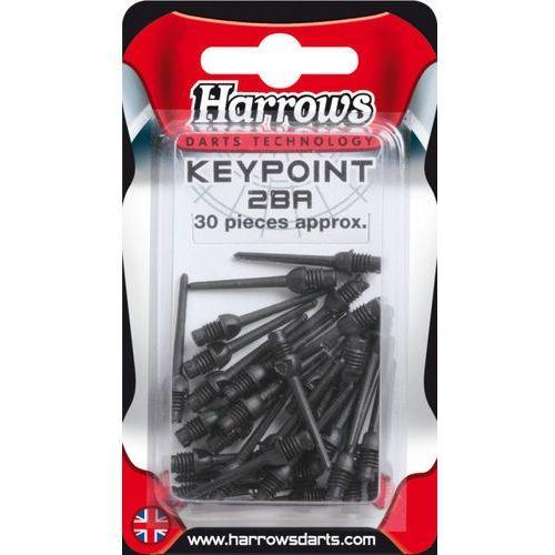 Końcówka 50szt keypoint długie black marki Harrows