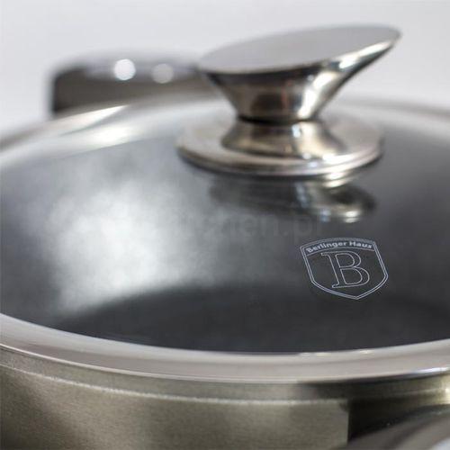 Garnek marmurowy metalic line carbon 24cm/4,5l [bh-1235] marki Berlinger haus. Najniższe ceny, najlepsze promocje w sklepach, opinie.